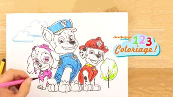 1, 2, 3... coloriage !
