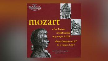 Mozart - Petite musique de nuit (pour quatuor et contrebasse)