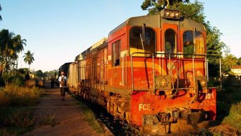 Madagascar, le petit train des Hautes Terres