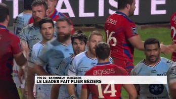 Le leader fait plier Béziers !
