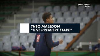 """Théo Maledon : """"Une première étape"""""""