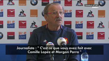 XV De France : Le moment gênant du jour