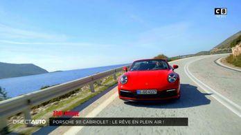 Zone Rouge : Porsche 911 Cabriolet