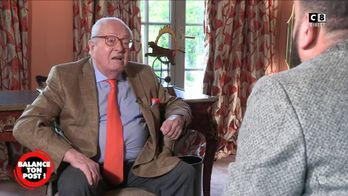Jean-Marie Le Pen est-il raciste ? Il répond à la question de Cyril Hanouna
