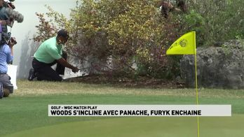 Woods s'incline avec panache !