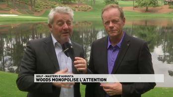 Woods monopolise l'attention