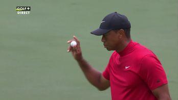 Birdie pour Tiger Woods sur le trou n°3 !