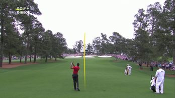 Quelle approche signée Tiger Woods !