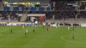 Alexis Claude Maurice ouvre le score pour Lorient !