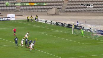 Lorient reprend l'avantage sur penalty !