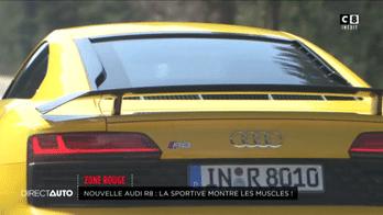 Zone Rouge : Nouvelle Audi R8 : La sportive montre les muscles