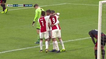 Les 6 buts de l'AJAX face à l'Excelsior