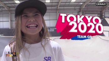 Sky Brown, plus jeune skateuse pro au monde dans Toussa Toussa