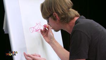"Le ""pictonaveugle"" du street artiste SETH et de Tony"