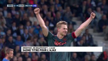 34e titre pour l'Ajax !
