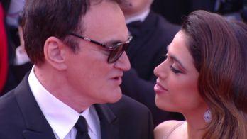 Quentin Tarantino et son épouse, Daniella Pick sur le tapis rouge  - Cannes 2019