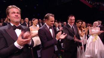 Accueil chaleureux du public pour l'équipe de Once Upon a Time in Hollywood - Cannes 2019