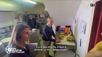 Greg Guillotin fait péter les plombs au patron d'un restaurant
