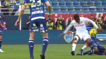 Troyes à 10 après l'exclusion de Martins Pereira