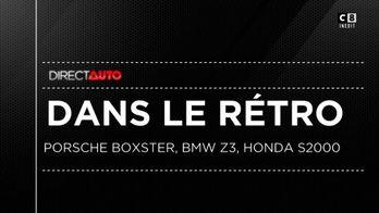 Honda S2000, BMW Z3, Porsche Boxst