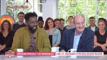 Avec Ladj Ly, Pierre Lescure, Djebril Zonga, Alexis Manenti, Damien Bonnard et Ousmane Ly