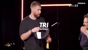 Le TRI Athlon - Duel entre Luka Karabatic et Tony