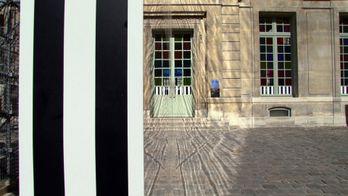 Daniel Buren, «La Coupure», au Musée Picasso