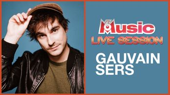 M6 Music Live Session : Gauvain Sers