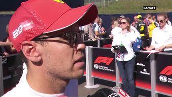 """Vettel : """"Charles était le plus fort ce week-end"""""""