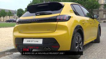 Exclu : A bord de la nouvelle Peugeot 208