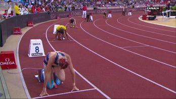 La course du 400M haies femmes