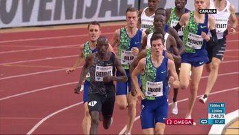 La course du 1500M Hommes