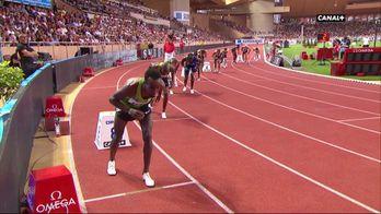 La course du 800M Hommes