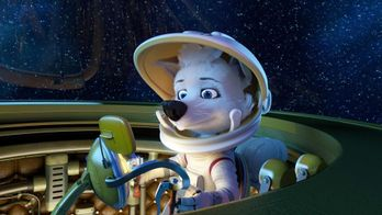 Space Dogs : Adventure to the Moon