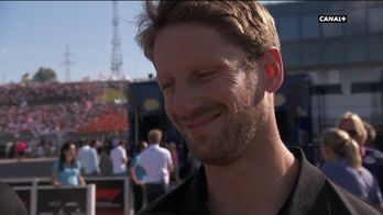 Réaction de Romain Grosjean