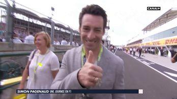 Pagenaud, une journée en F1
