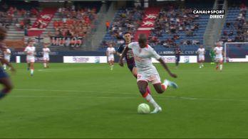 Wissa ouvre le score pour Lorient