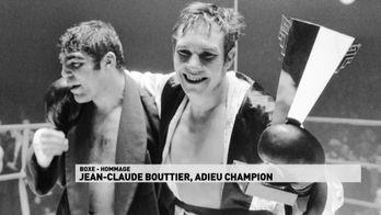 Jean-Claude Bouttier. Adieu Champion