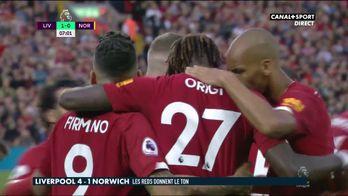 Le résumé de Liverpool / Norwich