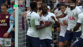 Le 1er but de Ndombele avec les Spurs