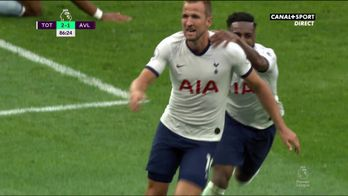 Le but d'Harry Kane face à Aston Villa