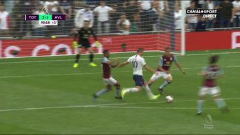 Le doublé de Kane face à Aston Villa