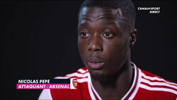 Nicolas Pépé justifie le choix Arsenal