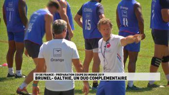 Brunel / Galthié - Un duo complémentaire