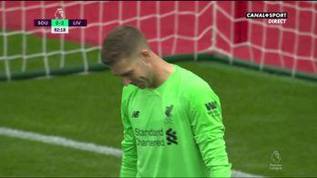 Southampton profite d'une erreur du gardien