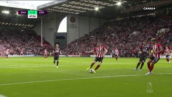 Lundstram ouvre le score pour Sheffield