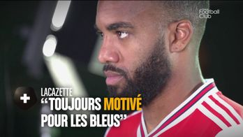 Interview d'Alexandre Lacazette