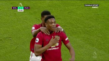 L'ouverture du score d'Anthony Martial