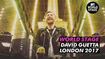 World Stage : David Guetta