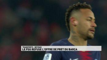 Paris refuse l'offre de prêt du Barça
